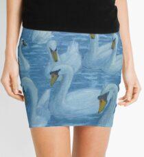River Nene Swans Mini Skirt