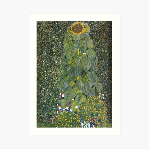 Gustav Klimt - The Sunflower 1907 Art Print