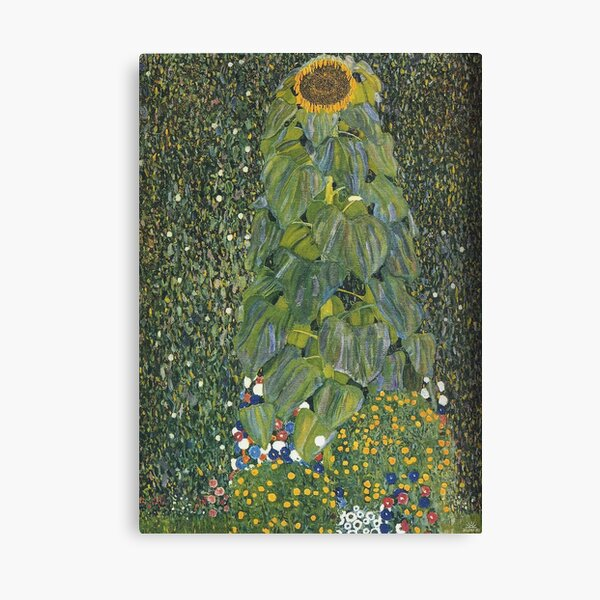 Gustav Klimt - The Sunflower 1907 Canvas Print