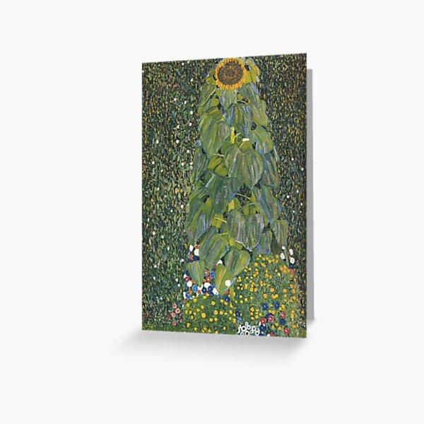Gustav Klimt - The Sunflower 1907 Greeting Card