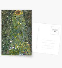 Gustav Klimt - The Sunflower 1907 Postcards