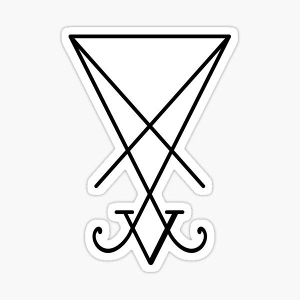 Sigil of Lucifer Sticker