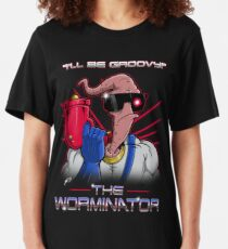 The Worminator Slim Fit T-Shirt