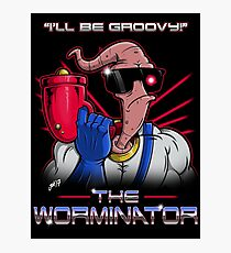 The Worminator Photographic Print