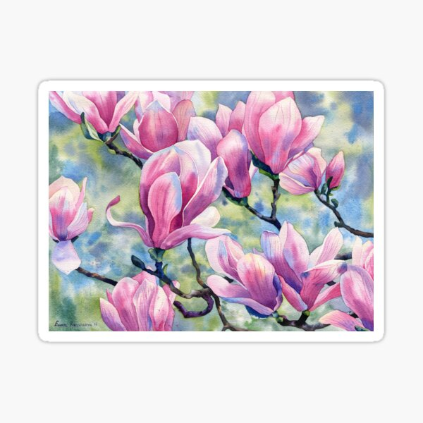 """""""Magnolia"""" Sticker"""