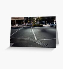 Melbourne, CBD 02 Greeting Card