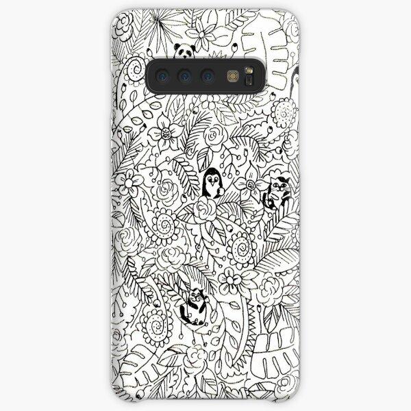 Waldabenteuer - Wimmelbild Samsung Galaxy Leichte Hülle