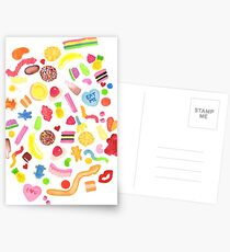 Mixed Lollies Postcards