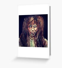 The Exorcist  Greeting Card