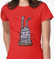 the robbit Womens Fitted T-Shirt