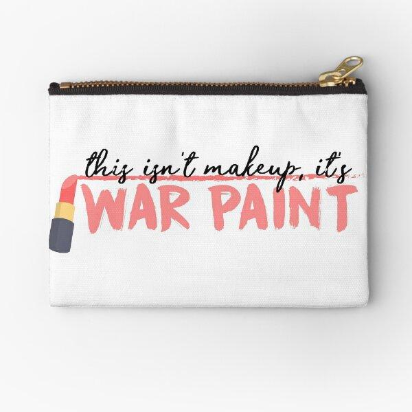 War Paint Zipper Pouch