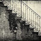 Stairs on a rainy day by Silvia Ganora