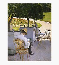 Gustave Caillebotte - The Orange Trees 1878 Photographic Print