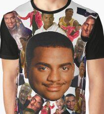 Carlton collage Graphic T-Shirt