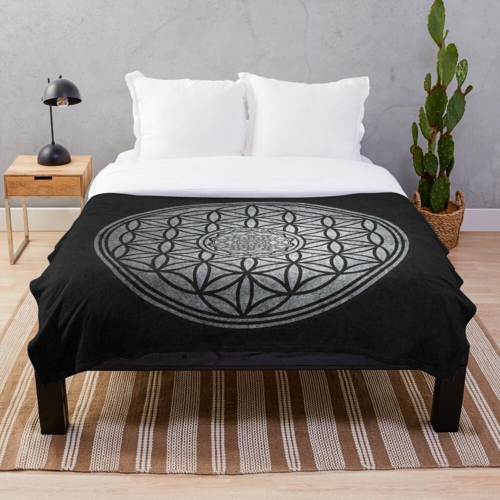 Sacred Unity - Sacred Geometry Throw Blanket