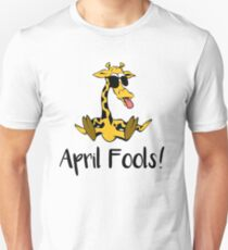 April the Giraffe Tshirt April fools Pregnant - Funny Witty Humor Gift for Adults  Unisex T-Shirt