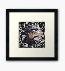 plague dr. Framed Print
