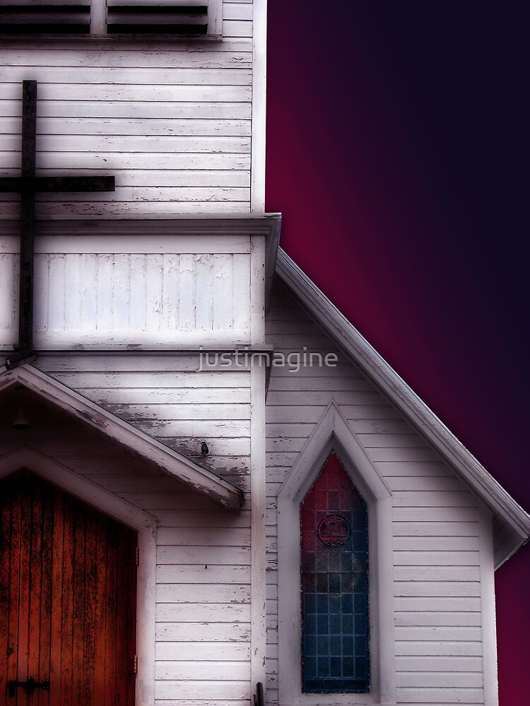 Country Church by justimagine