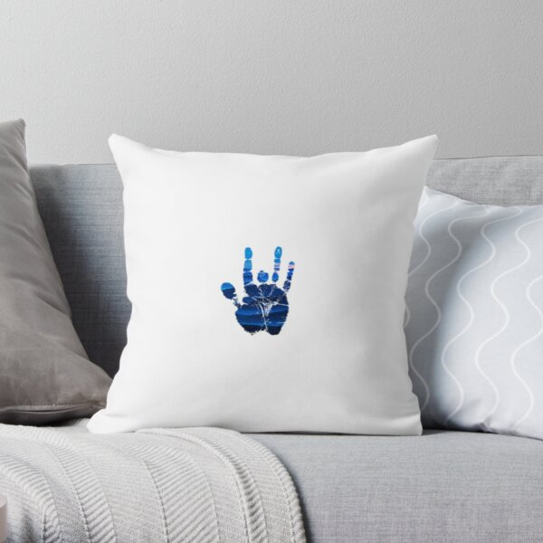 Blue Ridge Jerry  Throw Pillow