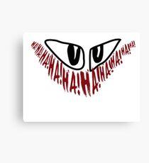Jerome 'The Joker' Gotham Logo Canvas Print