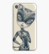 Kitty Cat Girl iPhone Case/Skin