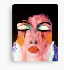 Too Fabulous To Care For Long  Canvas Print