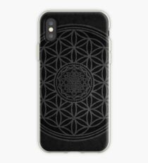 Dark Sacred Unity - Sacred Geometry iPhone Case