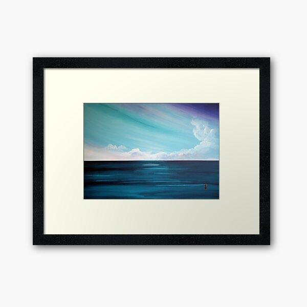 the Weatherman Framed Art Print