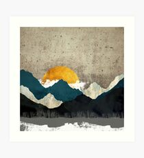Thaw Art Print