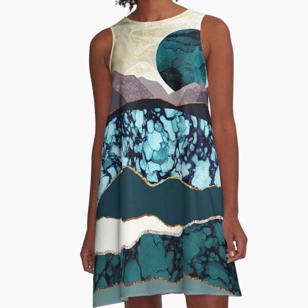 Desert Lake A-Line Dress