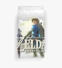 The Legend of Zelda - Breath of the Wild Logo Duvet Cover