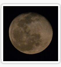 Full Moon View Sticker