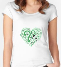 Nygma and Cobblepot Women's Fitted Scoop T-Shirt