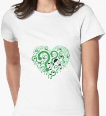 Nygma and Cobblepot Women's Fitted T-Shirt
