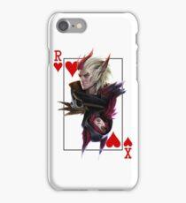 League of Legends Rakan and Xayah Poker Fanart iPhone Case/Skin