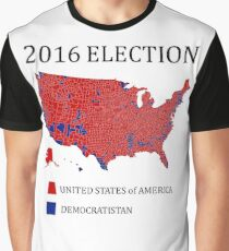 Election Results TShirts Redbubble - 2016 electoral us map by county