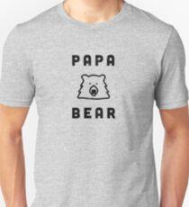 Papa Bear from the Matching Family Bear Set  Unisex T-Shirt