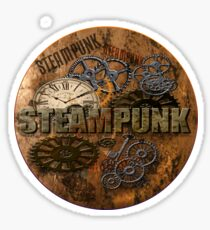 Steampunk 1890 Sticker