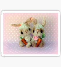 Bubblegum and Barbie  Bunny Rabbits Easter Sticker