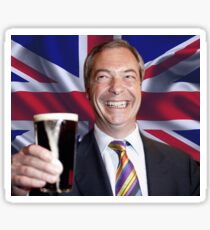 Nigel Farage Leader of UK Sticker