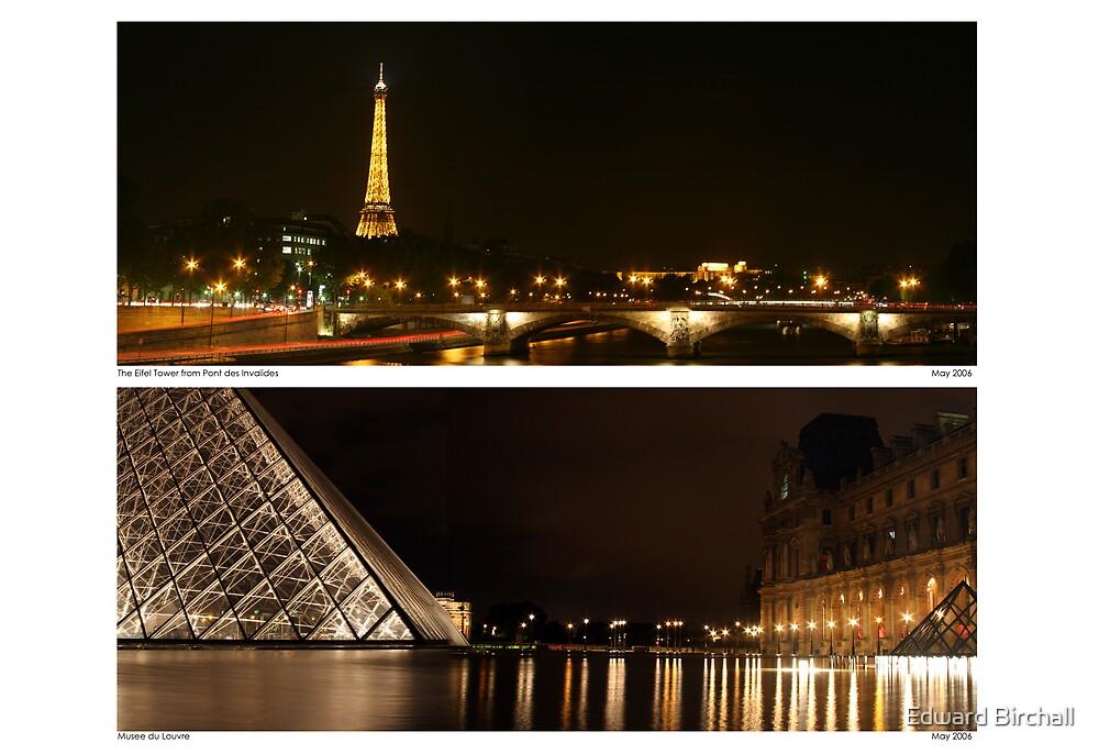 Paris Panoramics by Edward Birchall