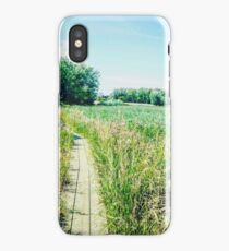 Norfolk marshes iPhone Case/Skin