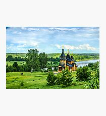 Russian landscape Photographic Print
