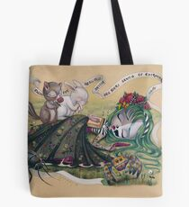 The Undead Poetess Tote Bag