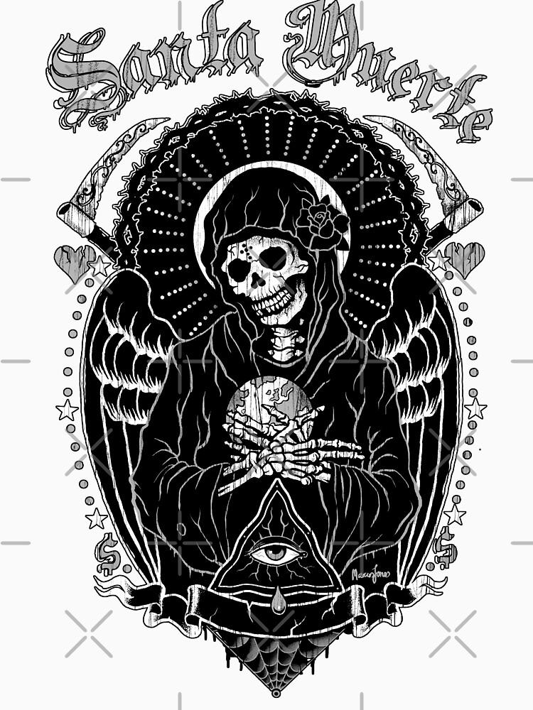 Holy Death Santa Muerte by marcusjones