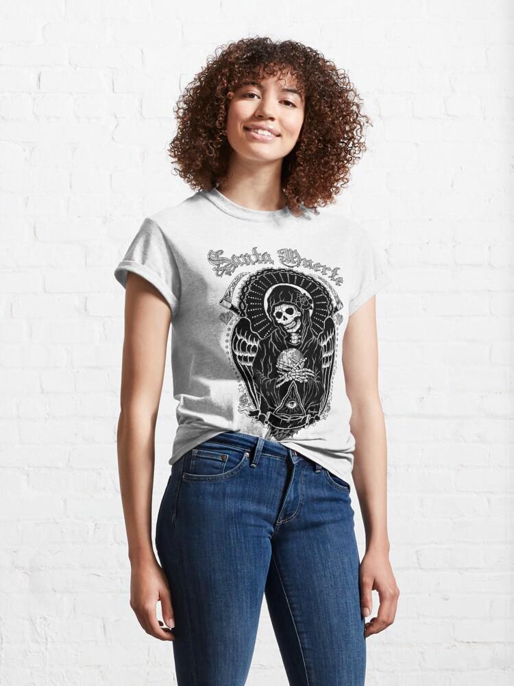Alternate view of Holy Death Santa Muerte Classic T-Shirt