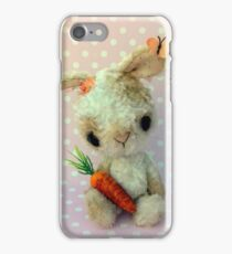 Bubblegum and Barbie  Bunny Rabbits Easter Card iPhone Case/Skin