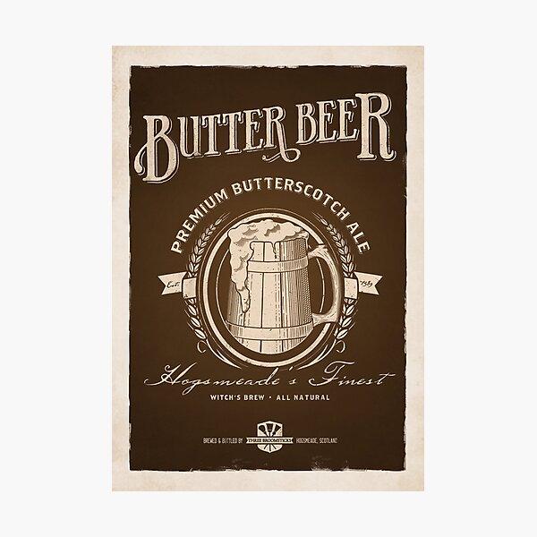 A Vintage Brew Photographic Print