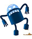 Robot Stepped In Poo | Kids Robot Shirt by FunnyAddicting