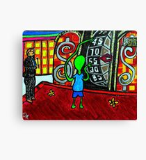 The Right Price Canvas Print